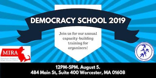 Democracy School: Central Mass.