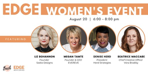 EDGE Women's Event with Megan Tamte, Liz Bohannon & Beatrice MacCabe