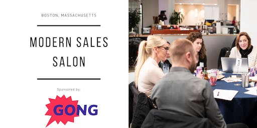 "Modern Sales Pro Salon - Boston - ""Revenue Success Strategies"" Night"