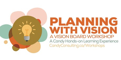 Planning with Vision : A Planners Vision Board Workshop tickets