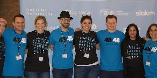 48in48 DFW Volunteer & Nonprofit Kickoff 2019