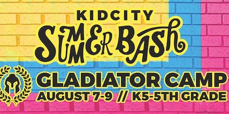 KidCity Summer Bash tickets
