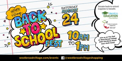 Back to School Fest
