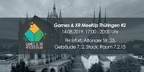 Games & XR MeetUp Thüringen #2 - Erfurt Tickets