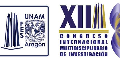 XII Congreso Internacional Multidisciplinario de Investigación tickets