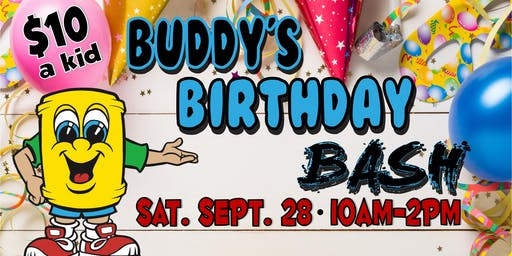 Buddy's Birthday Bash