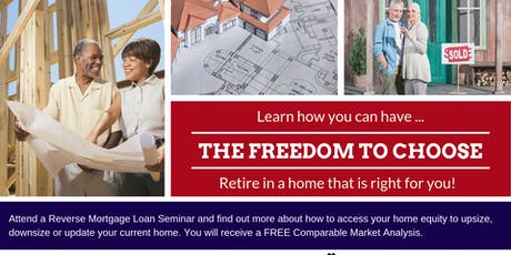 The Freedom to Choose... where to live.- Gig Harbor tickets