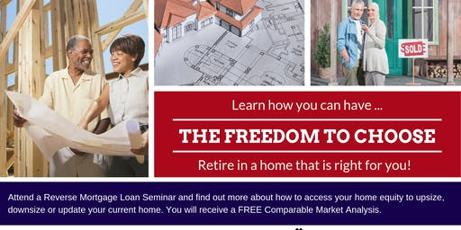 The Freedom to Choose... where to live.- Port Orchard