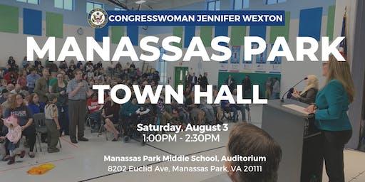 Congresswoman Wexton Holds Manassas Park Town Hall: Saturday, August 3rd