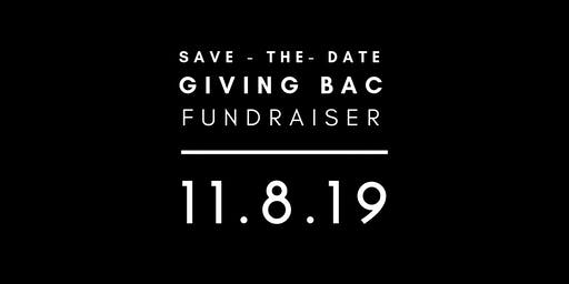 GIVING BAC: Annual Fundraiser