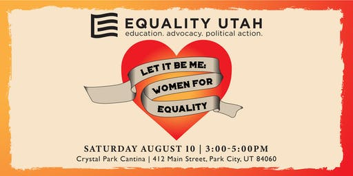 Let It Be Me: Women for Equality