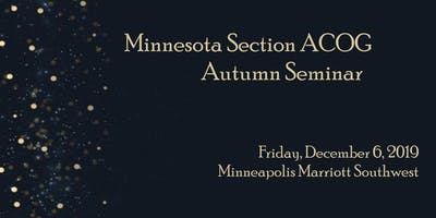 Minnesota Section ACOG Winter Meeting 2019