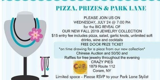 PIZZA, PRIZES & PARK LANE - Jewelry Big Reveal Show!!!