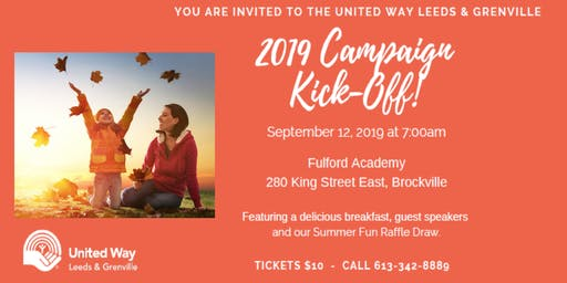 2019 United Way Campaign Kick Off
