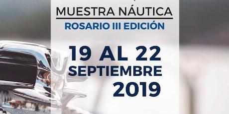 Muestra Nautica Rosario entradas