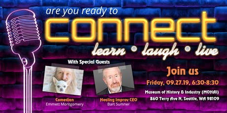 Connect: Learn, Laugh, Live tickets