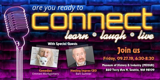 Connect: Learn, Laugh, Live