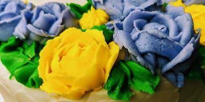Teen Class: Buttercream Flowers