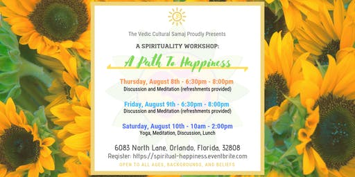 Spiritual Workshop: A Path To Happiness