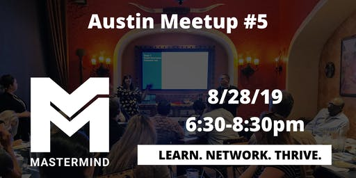 Austin Home Service Professional Networking Meetup  #5