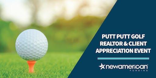 Putt Putt Golf Appreciation Event
