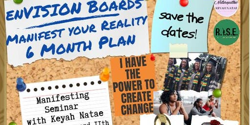 EnVISION BOARDS: Manifest Your Reality (6 Months)