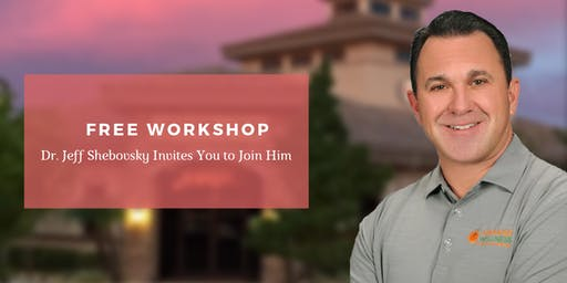 Pain Free with Decompression | FREE Workshop with Dr. Jeff Shebovsky