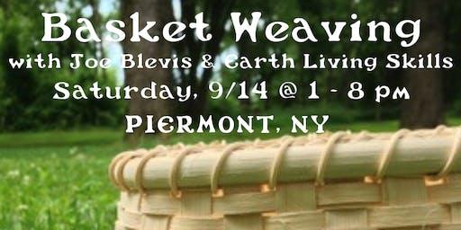 Basket Weaving : Splintwork with Joe Blevis of Earth Living Skills