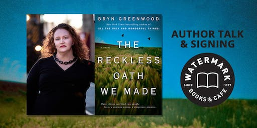 An Evening with New York Times-Bestselling Kansas Author Bryn Greenwood