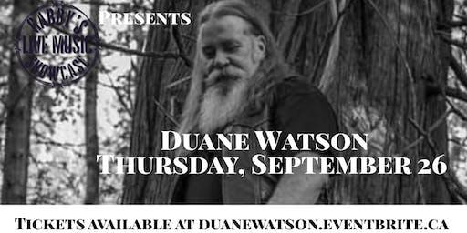 Duane Watson - Gabby's Live Music Showcase