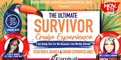 2020 Ultimate Survivor Cruise Empowerment Ticket (book cruise separately)