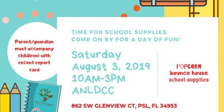All Nations Children's Church Back to school Giveaway tickets