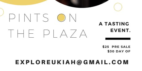Pints on the Plaza tickets