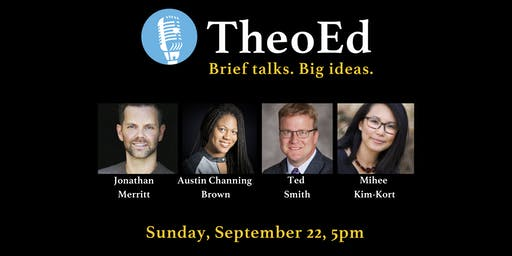 TheoEd Talks September 2019