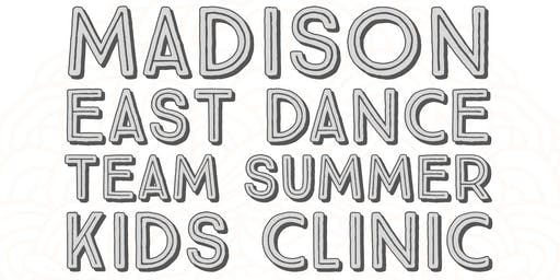 2019 Madison East Dance Team Kids Clinic