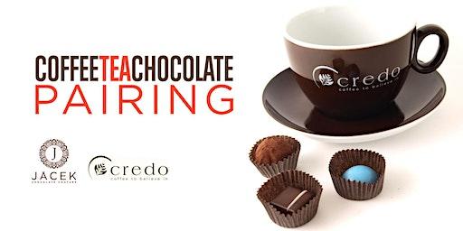 Coffee, Tea, and Chocolate Pairing January 18, 2020