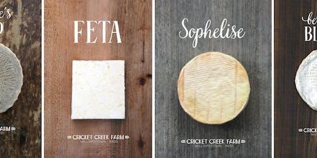 Local Beer & Cheese Pairing: Cricket Creek Farm tickets