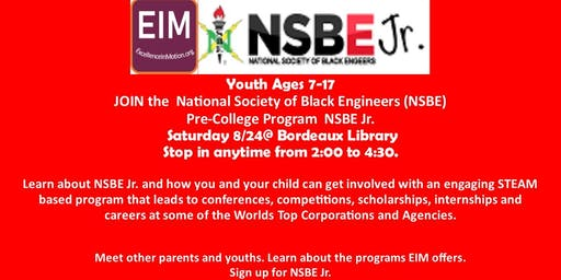 EXCELLENCE IN MOTION- NSBE Jr. Chapter Interest Meeting