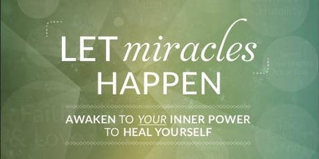 """Special Seminar """"Let Miracles Happen"""" by Dr. Jiro Imai Ph.D tickets"""