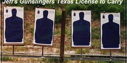 Texas License to Carry Class CHL--Sale $60
