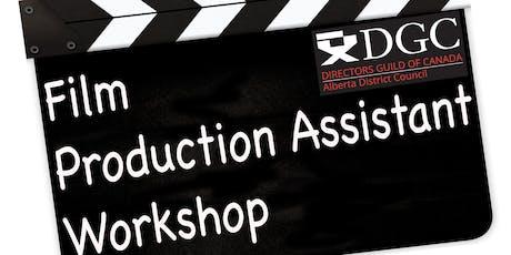 Film Production Assistant Workshop  - Calgary, Alberta tickets