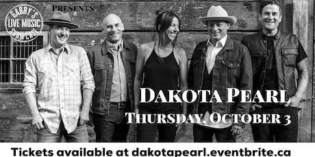 Dakota Pearl - Gabby's Live Music Showcase tickets