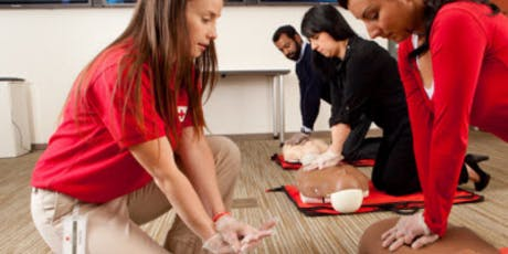 Adult & Child CPR/AED - American Red Cross tickets