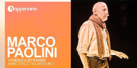 FILO FILO'  di e con Marco Paolini biglietti