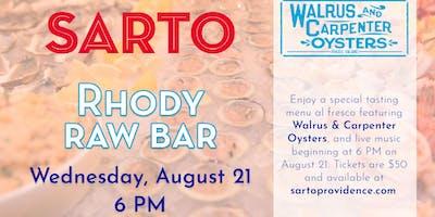 Rhody Raw Bar at Sarto