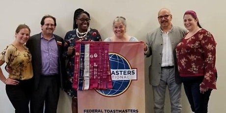 Free Federal Toastmasters Club Meeting - We are on Zoom Now! tickets