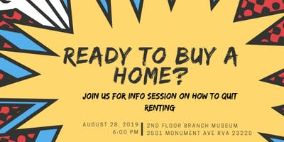 First Time Home Buyers Info Session