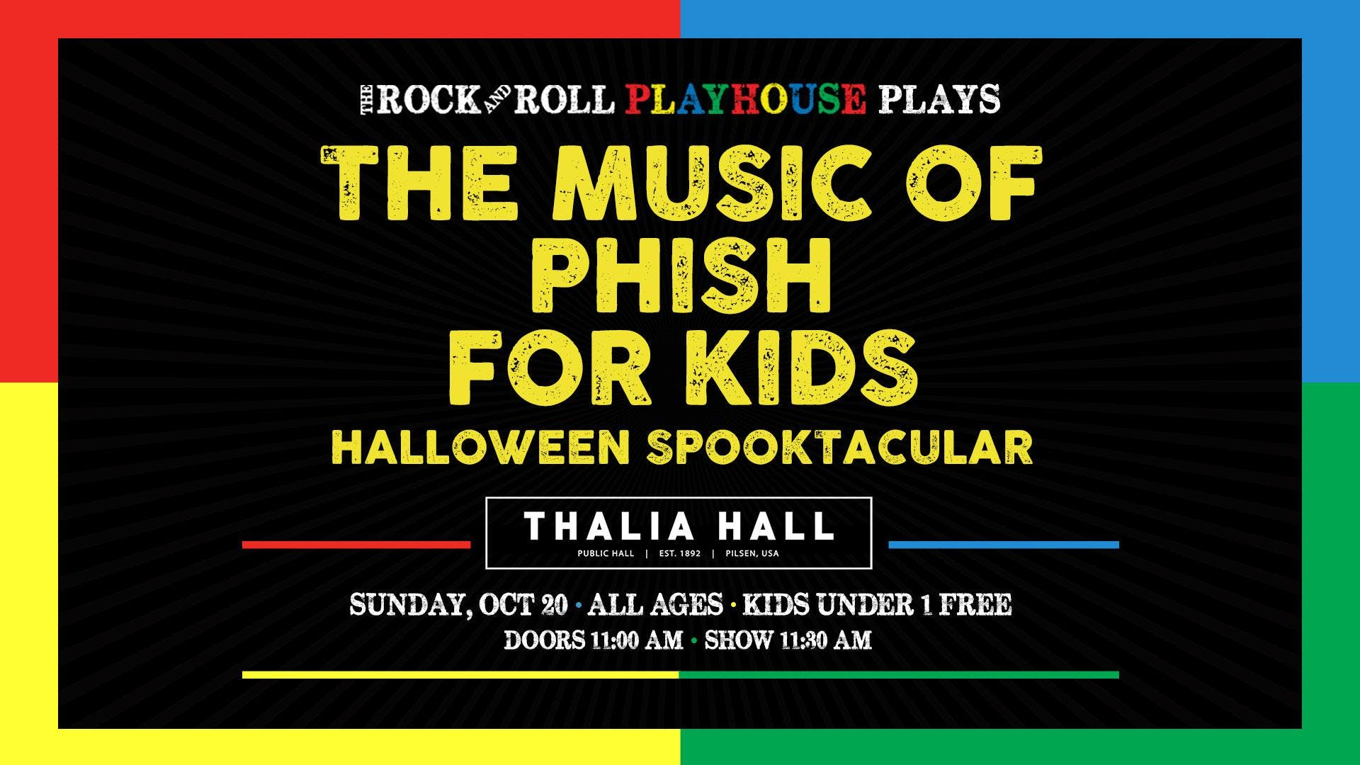 The Rock and Roll Playhouse presents: The Music of Phish for Kids