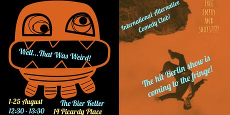 Well, That Was Weird - Alternative Comedy Club, from Berlin! tickets