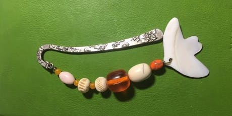 Making beaded bookmarks and Key rings (with Val Wilkie, Jeweller)  Saturday tickets